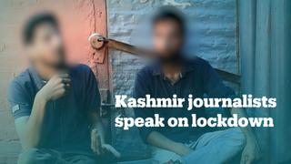 Kashmiri journalists speak about communications blockade