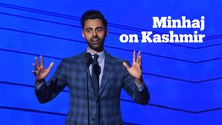 Hasan Minhaj expresses solidarity with the people of Kashmir
