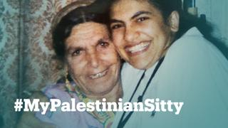 Here's why #MyPalestinianSitty is trending on social media