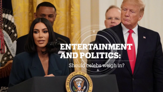 Celebrities and politics: Should they weigh in?