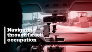 App helps Palestinians avoid Israeli checkpoints