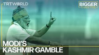 Modi's Kashmir Gamble   Bigger Than Five