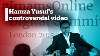 Hamza Yusuf under fire for comments about the Syrian revolution