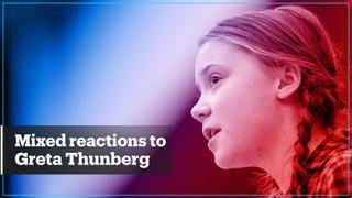 Mixed responses followed teen climate activist's UN speech