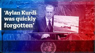 Turkey's President Erdogan speaks at 74th UN General Assembly