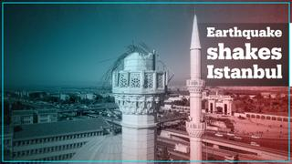 5.8 magnitude earthquake shakes Istanbul