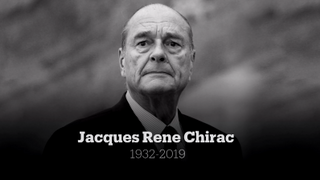 Jacques Chirac: 1932-2019 - Former president of France dies aged 86