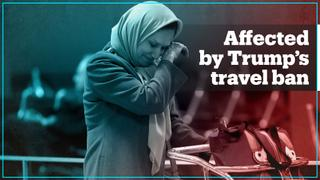 Here's how Trump's travel ban is tearing families apart