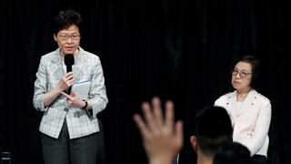 Hong Kong Protests: Carrie Lam holds public dialogue for first time