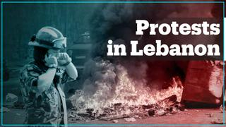 Protests in Lebanon over worsening economic crisis