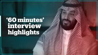 Highlights from Mohammed bin Salman's interview on '60 minutes'