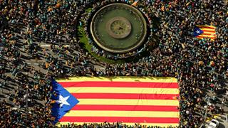 Catalan Rally: 2nd anniversary of independence referendum