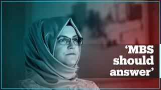 Jamal Khashoggi's fiancee demands answers from Saudi crown prince
