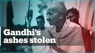 Mahatma Gandhi's ashes stolen from memorial in India