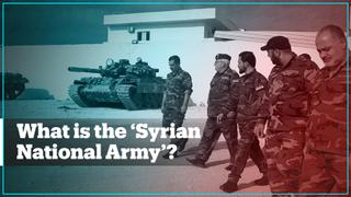What is the 'Syrian National Army'?