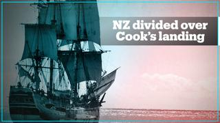 Mixed reactions in New Zealand over the 250th anniversary of Captain Cooks arrival