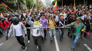 Ecuador Protests: Truck drivers, protesters clash with police