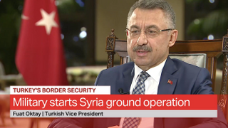 Exclusive: Turkey's Vice President Fuat Oktay on Operation Peace Spring