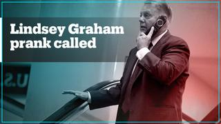 US Senator Lindsey Graham pranked by Russians posing as Turkish defence minister