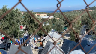 The Refugee Crisis: Few services available for refugees in Lesvos