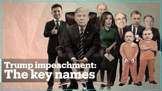 Trump Impeachment: The key names