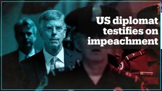 US diplomat's testimony supercharges Trump impeachment probe