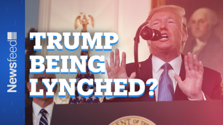 President Donald Trump says impeachment is a 'lynching'. The internet is furious