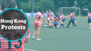 Hong Kong Protests: Rugby popularity takes a hit