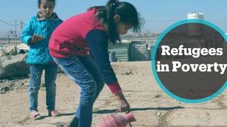 Jordan Refugees: UN says 1.3 million refugees struggle with poverty