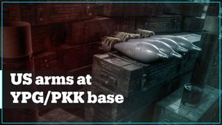 American weapons found in YPG/PKK ammunition stores in Tal Abyad