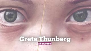 Massive Mural of Greta Thunberg | Political Art | Showcase