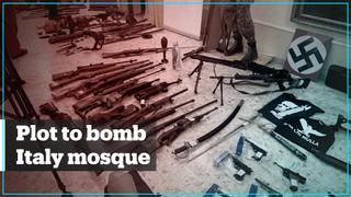 12 arrested in Italy over plot to bomb mosque