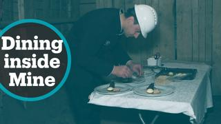 Fine Dining Underground: Restaurant in abandoned mine in Slovenia
