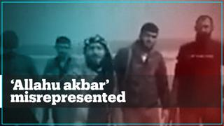 YPG terror group says 'Allahu akbar' is a Daesh chant