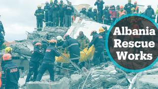 Albania Earthquake: Rescue operations continue after quake