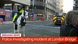 Breaking: Stabbing incident at London Bridge