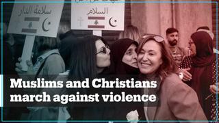 Lebanese Christian and Muslim women unite against violence