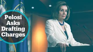 Impeachment Inquiry: Pelosi asks Congress to draft articles of impeachment