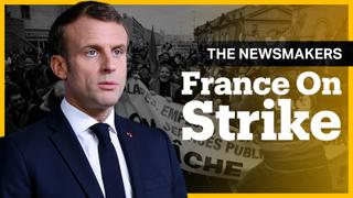 Why are the French on Strike?