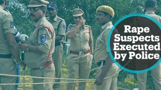 Mixed reaction to killing of suspects in rape, murder case