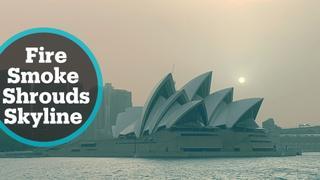 Officials say three fires merge near Sydney into 'mega blaze'