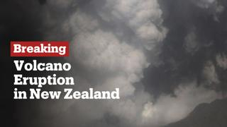 Breaking News: At least one dead as volcano erupts in New Zealand