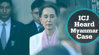 Final day of hearings over claims of genocide in Myanmar
