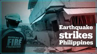 6.8-magnitude quake rocks southern Philippines