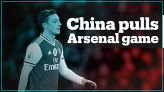 China pulls Arsenal game after Ozil tweets about treatment of Uighurs