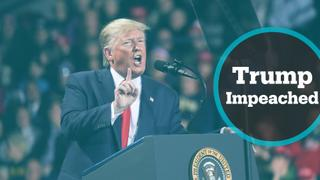 House of Representatives impeached US President Donald Trump