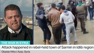 The War in Syria: Children killed when rocket hits school in Idlib