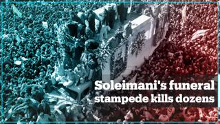 More than 40 killed in stampede at Qasem Soleimani's funeral