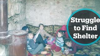 Thousands of displaced Syrians scrambling to find shelter