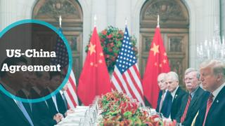 US-China Trade: The US and China make their 'phase one' trade pact official